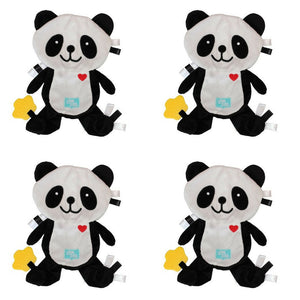 Popo the Panda Taggie Baby Comforter - PACK OF 4