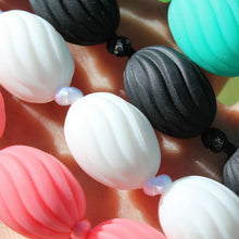 Audrey Silicone Teething Jewellery Black