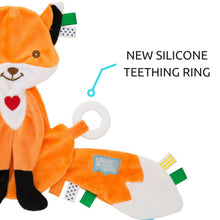 Felix the Fox Taggie Baby Comforter with silicone teething ring