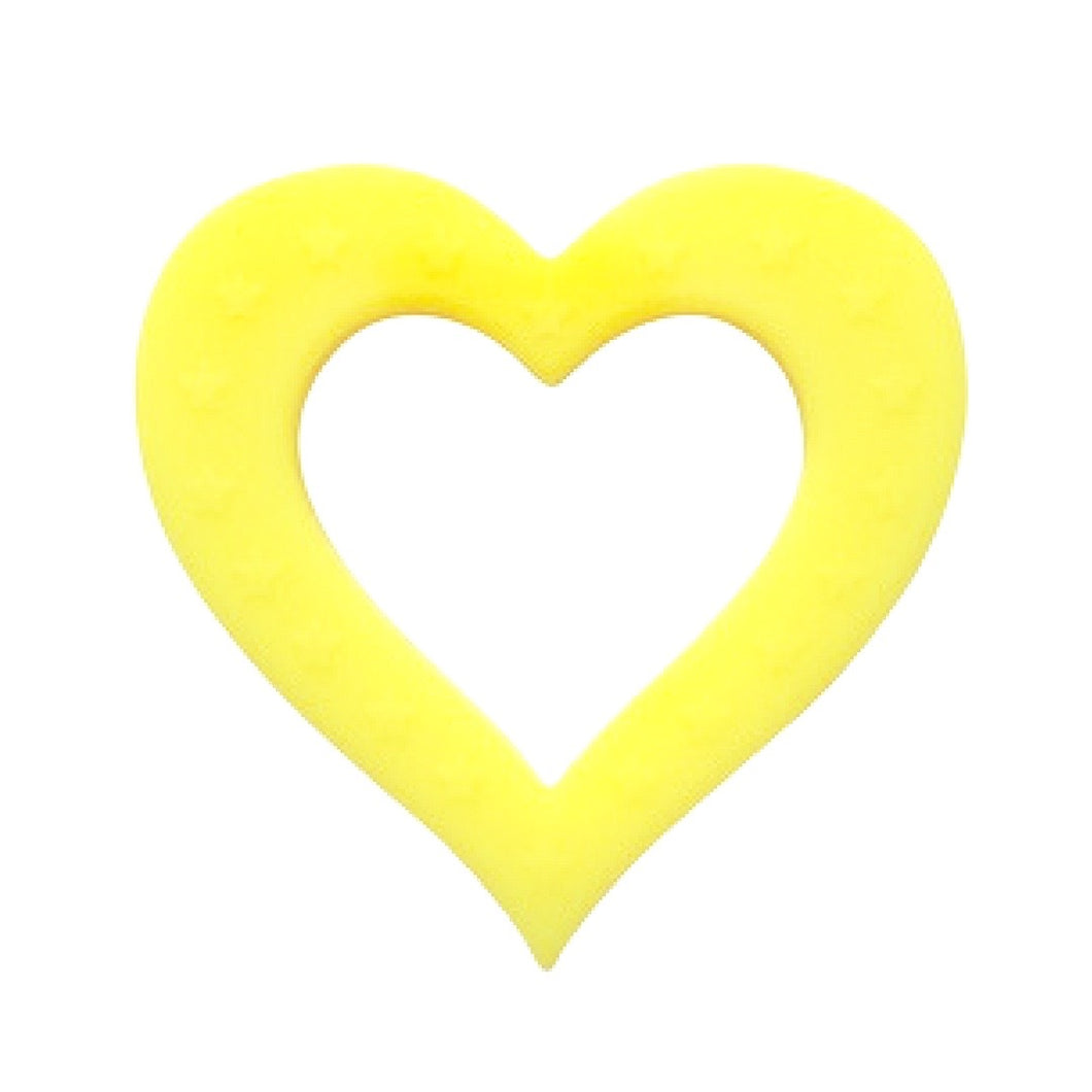 Heart of Hearts Teether Yellow