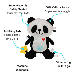Popo the Panda Taggie Baby Comforter