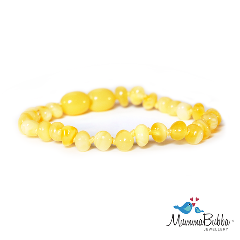 Baltic Amber Anklet Butter