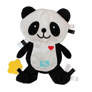 little num nums teething toys popo the panda Taggie Comforter teether