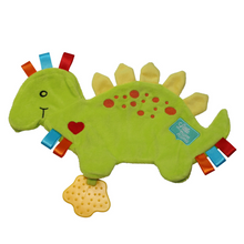 little num nums teething toy spike the dinosaur Taggie Comforter teether
