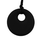 Pendant Silicone Necklace Black