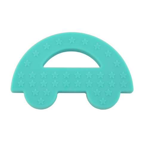 Charlie Car Teether Blue