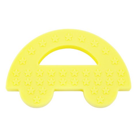 Charlie Car Teether Yellow