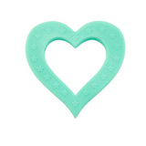 Heart of Hearts Teether Light Teal