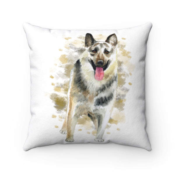 East European Shepard - Watercolor Design -Throw Pillow - Cushion