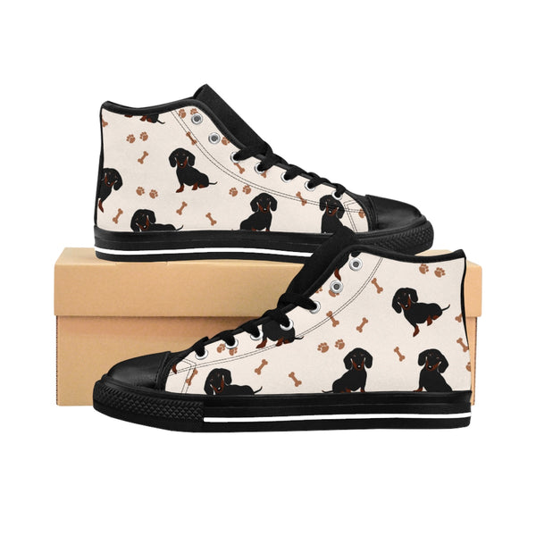 Dachshund Playground  - Women's High-top Sneakers