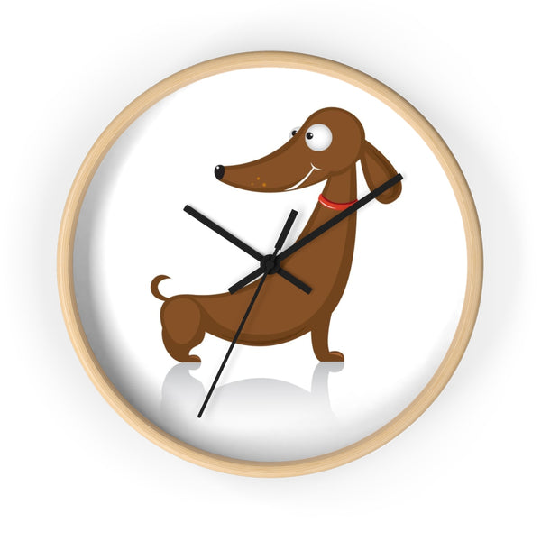 Dashy the Dachshund Wall clock