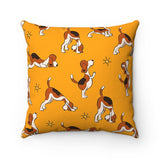 Yoga Dog - Throw Pillow- Cushion