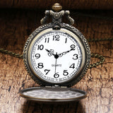 The Bronze Bass - Pocket Watch - With Chain