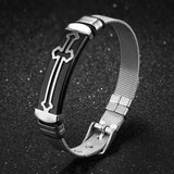 Faith and Iron - Bracelet  For Men