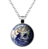 Planet Captured - Glow in the dark necklace