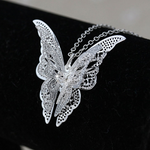 Watch My Wings - Butterfly Necklace and Pendant