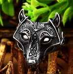 Wolf of Night - Viking Edition - Sterling Silver Ring