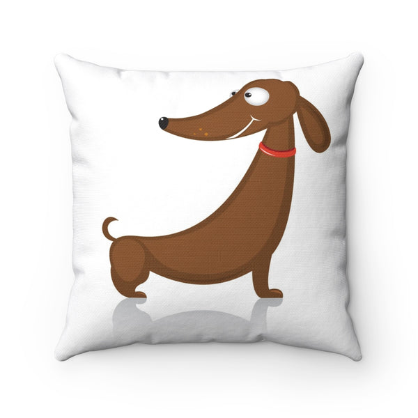 Dashy the Dachshund - Throw Pillow- Cushion