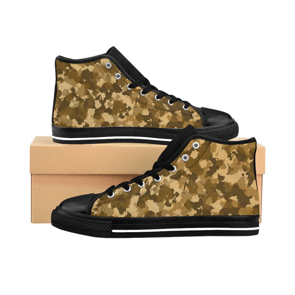 Covered by Camo - Desert Edition - Men's High-top Sneakers