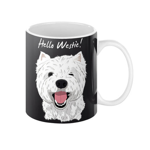 Hello Westie! (West Highland Terrier)  Coffee Mug
