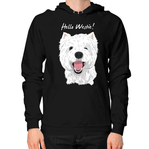 Hello Westie! (West Highland Terrier)  Hoodie