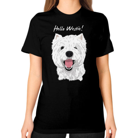 Hello Westie! (West Highland Terrier)  Unisex T-Shirt