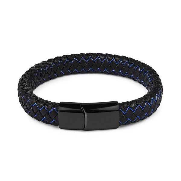 Blue Lightning and Dark Mountains - Bracelet  For Men