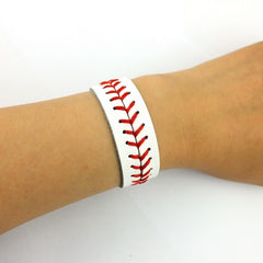 Classic Softball/Baseball Snap Button Bracelet