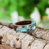 Frozen in Time Flower Collection - Handmade Ring for Women or Men