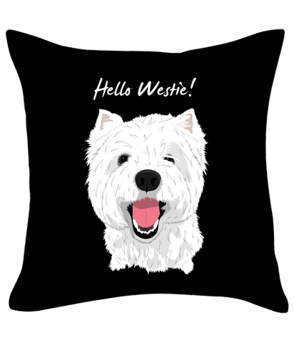 Hello Westie! Cushion