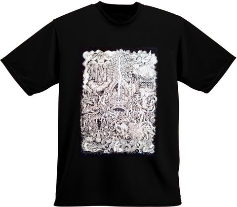 The Space Inbetween T-Shirt (Black)