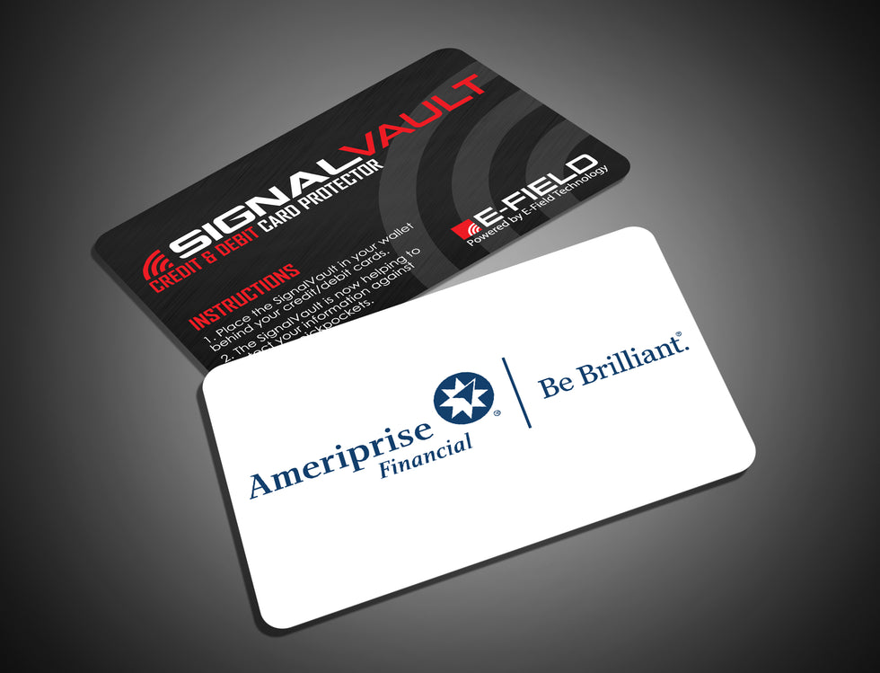 SignalVault Credit Card Protector - As Seen On Shark Tank