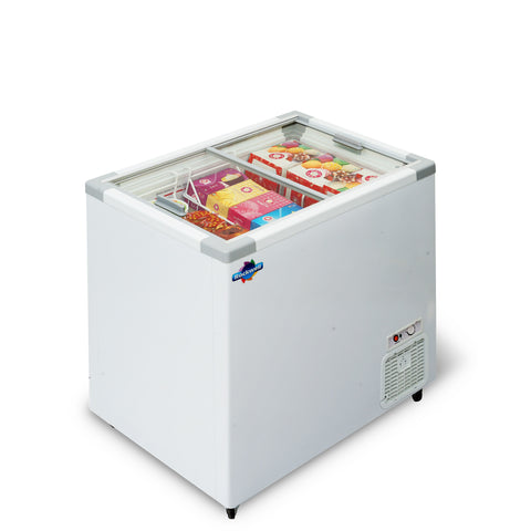 Glass Top Freezer 250 liters