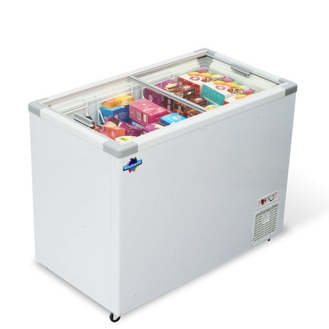 Glass Top Freezer 350 liters