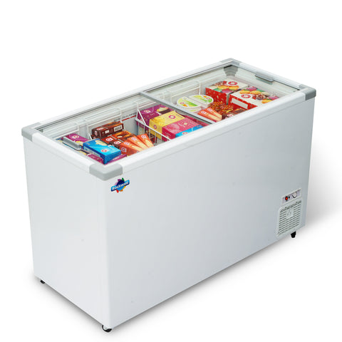 Glass Top Freezer 450 liters