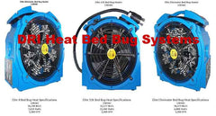DRI Heat Bed Bug Systems
