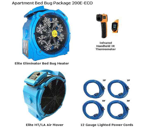 Bed Bug Package 200 E-ECO + FREE Shipping