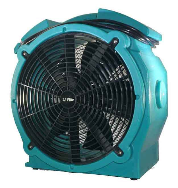 DH Elite High Temperature Low Amp Air Mover Teal