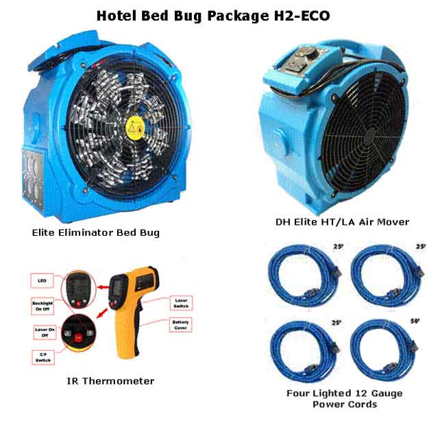 Bed Bug Package H2-ECO + FREE Shipping
