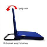 Pack of 2 Right Angle Back Support Portable Relaxing Folding Yoga Meditation Floor Chair Easy to Carry C212-Blue