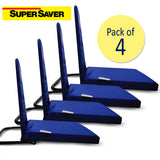 Pack of 4 Right Angle Back Support Portable Relaxing Folding Yoga Meditation Floor Chair Easy to Carry C213 PAck of 4