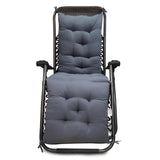 Kawachi Zero Gravity Relax Recliner Chair with Soft Comfortable Cushion Indoor and Outdoor Use C216