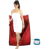 Kawachi Portable Steam Sauna Bath Panchkarma Swedan Machine for Health and Beauty Spa at Home Red I03-Red
