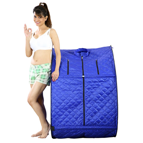 Kawachi Portable Steam Cabin for Steam Sauna Therapy for Slimming and Beauty. (Steam generator not provided) - I51