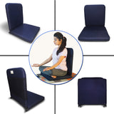 Kawachi Meditation and Yoga Floor Chair with back support - I83