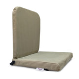 KAWACHI RIGHT ANGLE BACK SUPPORT PORTABLE RELAXING FOLDING YOGA MEDITATION FLOOR CHAIR I83-BEIGE