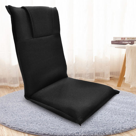 Kawachi Relaxing Meditation and Yoga Chair with Back Support Seat Cushion Floor Chair K519