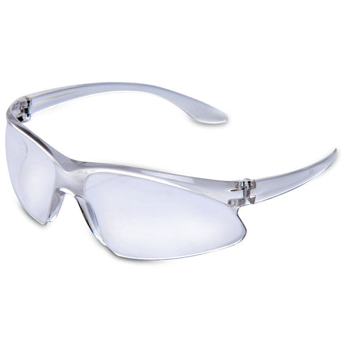 Kawachi Outdoor Sports Day Vision Driving White Sunglass Transparent Goggle - K64