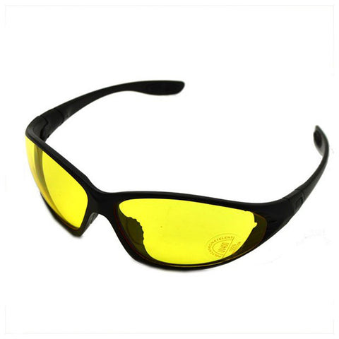 Kawachi Yellow Night Vision Sports Sunglasses Baseball / Running / Cycling / Fishing / Bikers - K65