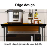 Kawachi 2 Tier Kitchen Counter Shelf Microwave Stand Storage Spice Rack Organiser KW17-Beige